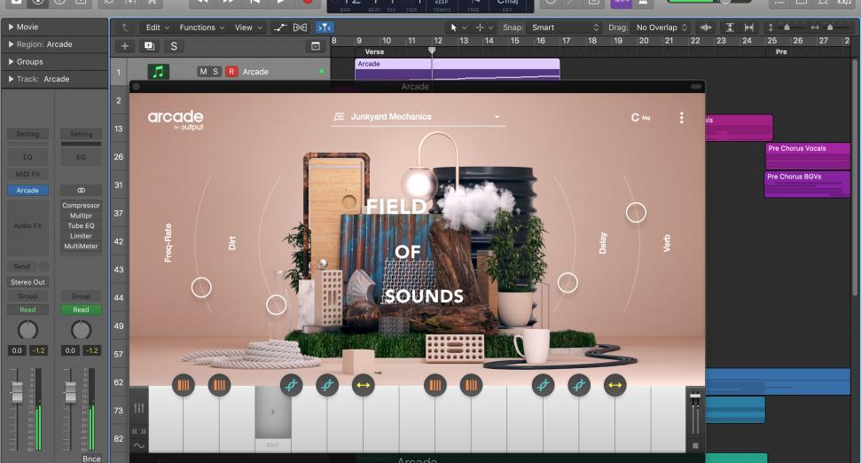Output Sounds Arcade Plugin