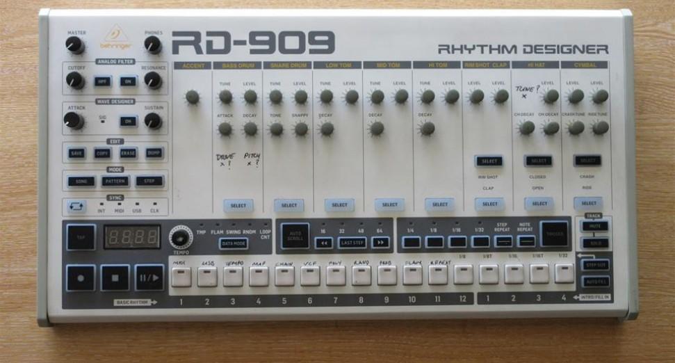 Behringer 909 clone
