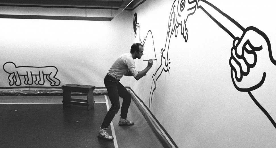 Keith Haring's first major UK exhibition will open next year