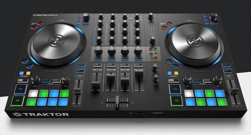 Native Instruments four-deck DJ controller