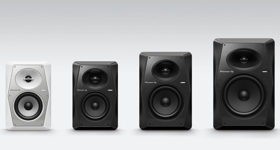Pioneer DJ VM speakers