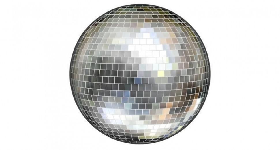 Disco ball emoji glitterbox